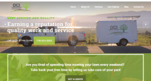 OCI-landscaping-website-design