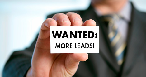 getting leads from website blog